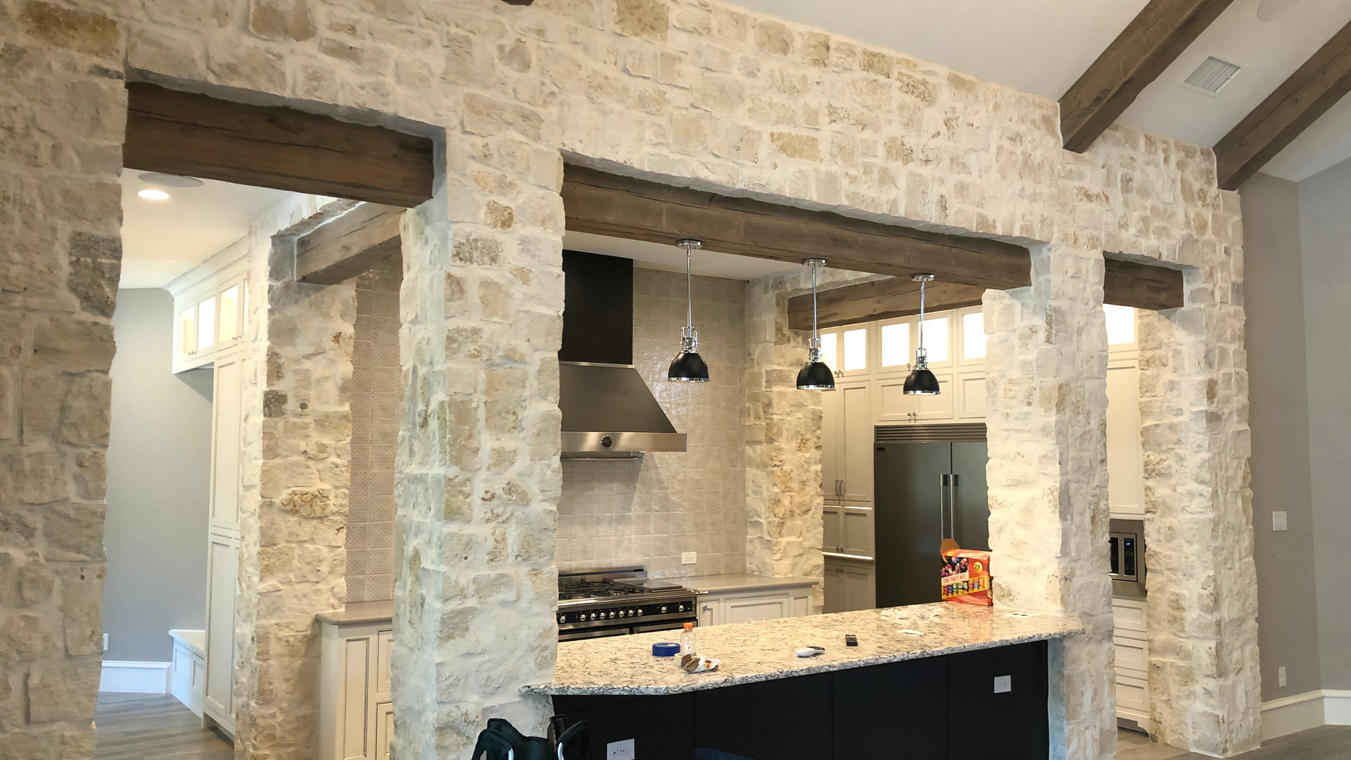 Gourmet kitchen opens to great room