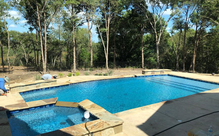 Custom pool designed by SDS