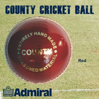 Admiral County Cricket ball (box of 6)