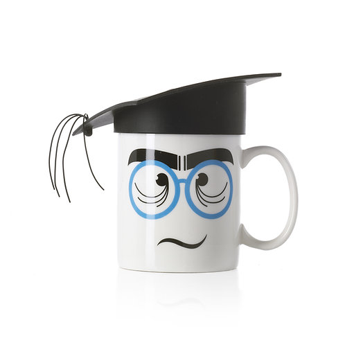 NERD Jumbo Mug with Silicone Hat