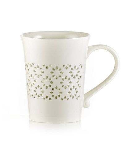 DELICE Mug with transparent decoration