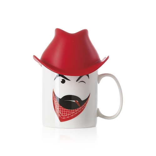 CLINT Jumbo Mug with Silicone Hat