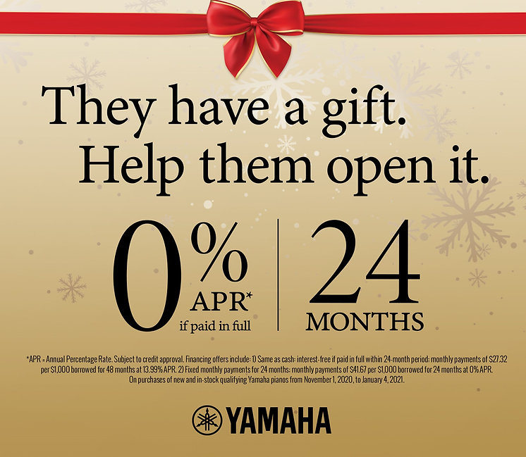 Yamaha 0% Financing Red Envelope Offer w