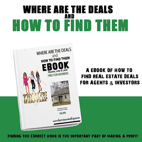 Where are the Deals & How to find them