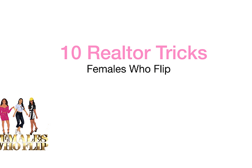 10 Tricks to help succeed as a Realtor