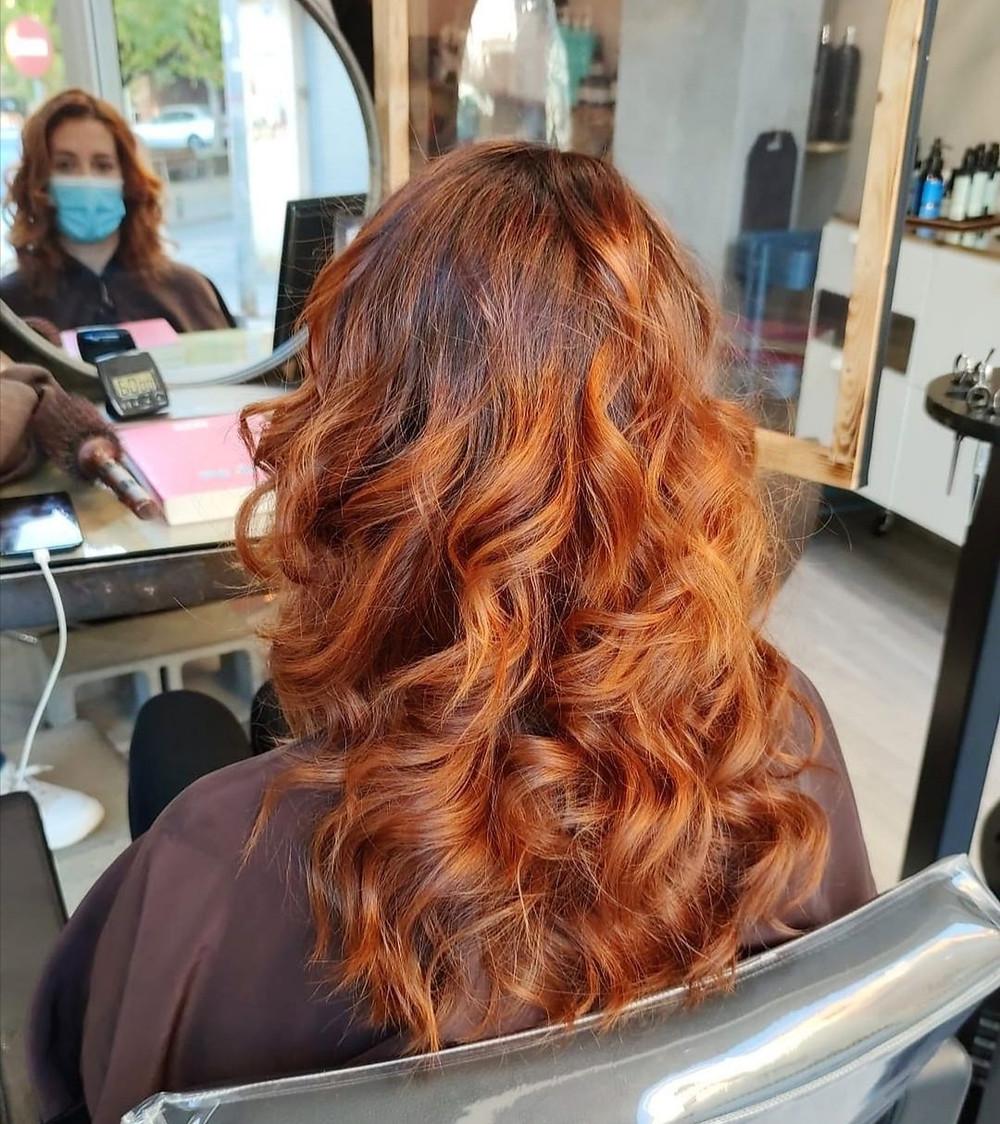Coloración barros cobrizos 100% orgánica sin amoniaco
