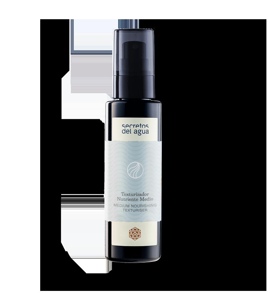 Texturizador de cabello Bionutricional que fija y genera soporte a la forma natural del cabello liso o rizado. Aporta mayor vitalidad desde la raíz evitando la caída capilar.