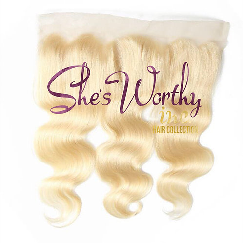 PLATINUM BLONDE 13x4 LACE FRONTAL $95.00-$130.00