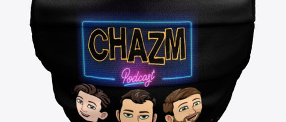 Chazm Podcast FaceMask