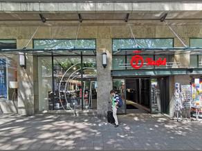 Ladenlokal in 1A-Lage von Essen an Lautsprecher Teufel vermietet