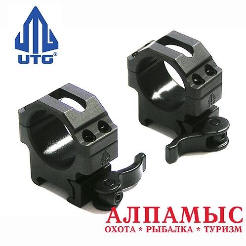 Кольца UTG Leapers на Weaver, низкие, 30 мм