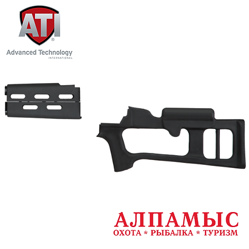 ATI приклад и цевье по типу СВД для АК-47