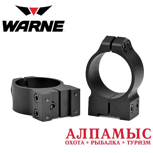Кольца Warne 30mmCZ Medium Matte Rings mod 14B1M