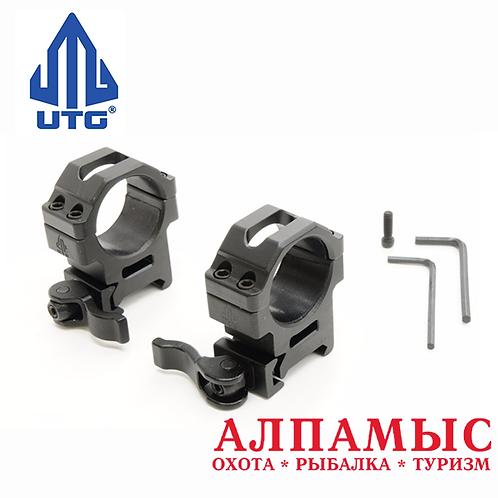 Кольца UTG Leapers на Weaver, средние, 30 мм