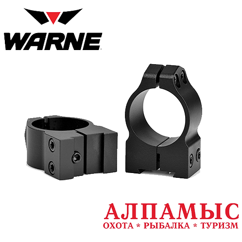 "Кольца Warne 1"" CZ High Rings mod 2B1M"