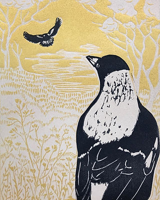 Nearly completed this edition of magpie