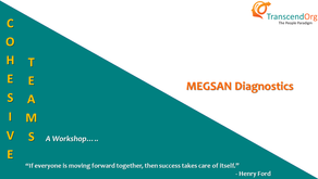 Training program on Cohesive Teams for Heads of Department of Megsan Diagnostics, Hyderabad
