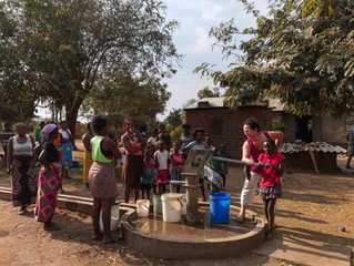 Ove Village unser 5. Brunnen Inspektion erfolgreich abgeschlossen