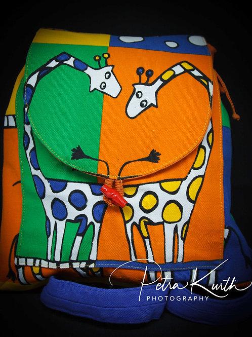 Kinderrucksack Giraffe