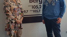 Interview bei Radio Berg