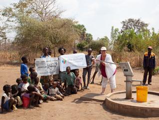 Der Brunnen der BeA-Stiftung ist fertig