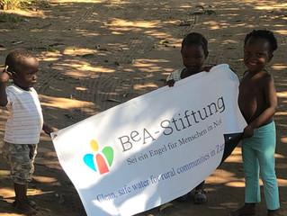 8. Brunnen wird gebohrt - gesponsert von der BeA-Stiftung