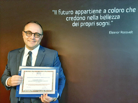 CONSTANTINUS AWARD 2020: SIAMO AL PRIMO POSTO TRA I PROGETTI CONSULENZIALI ITALIANI