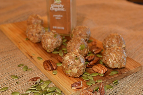 Pumpkin Vanilla Spice Energy Ballz - Dozen