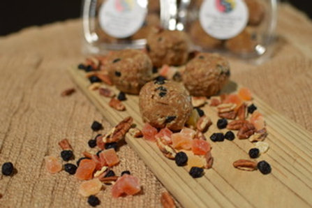 Papaya, Blueberry & Vanilla Nut Energy Ballz - Dozen