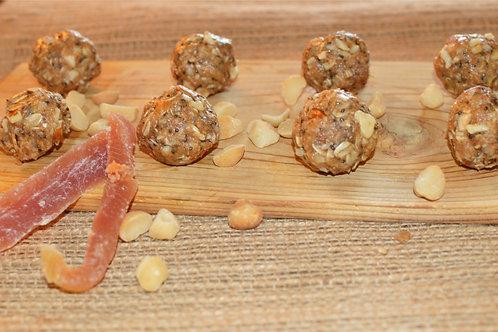 Papaya, Almond, & Macadamia Nut Energy Ballz - Dozen