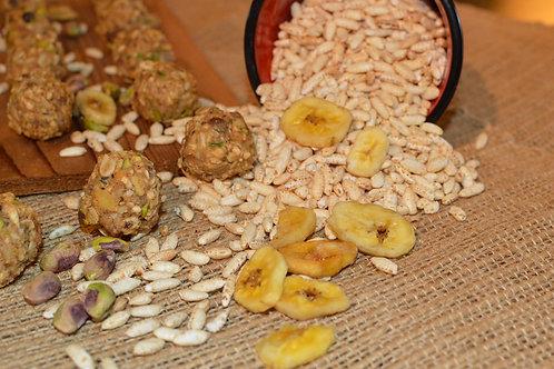 Banana, Pistachio, & Almond Energy Ballz - Dozen