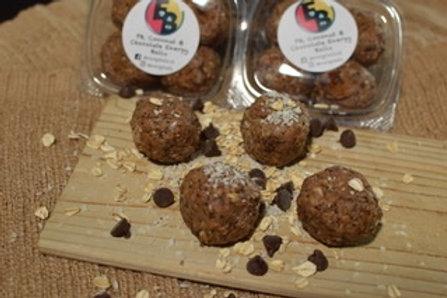 PB, Coconut, & Chocolate Protein Energy Ballz - Dozen