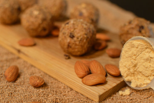 Almond, Coconut, and Vanilla Puffed Rice Protein Energy Ballz - Dozen