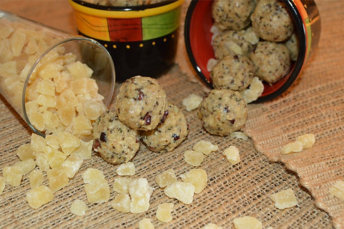 Pineapple & Cacao Nib Energy Ballz - Dozen