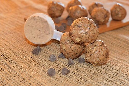 PB, Coconut, & Chocolate Protein Energy Ballz - Dozen