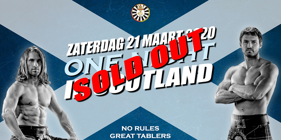 One Night In Scotland (SOLD OUT)