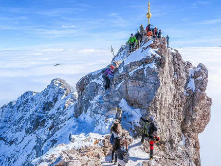 The 5 Routes To The Summit Of The Zugspitze