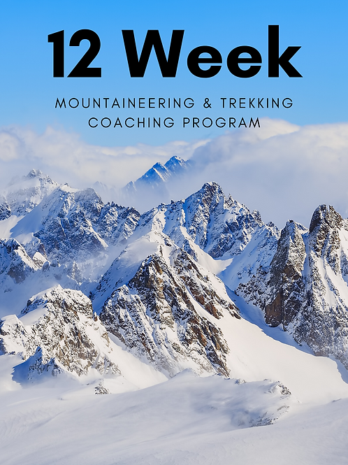 12 Week Mountaineering & Trekking Coaching Program
