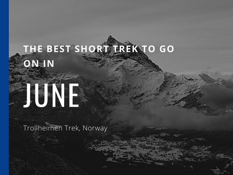 The Best Short Trek To Do In June - Trollheimen Trek
