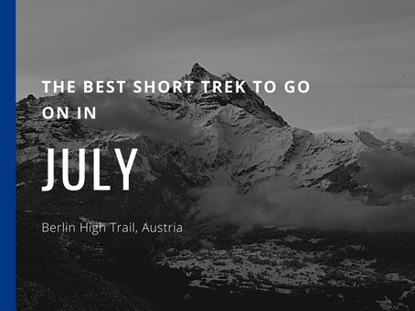 The Best Short Trek To Do In July - Berlin High Trail