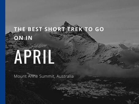 The Best Short Trek To Do In April - Mount Anne Summit
