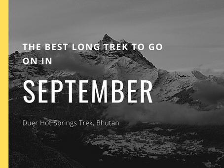 The Best Long Trek To Do In September - Duer Hot Springs Trek