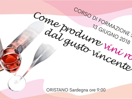 Come produrre vini rosati dal gusto vincente