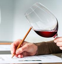 Degustazion vino rosso