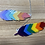Thumbnail: Rainbow Feather Necklace
