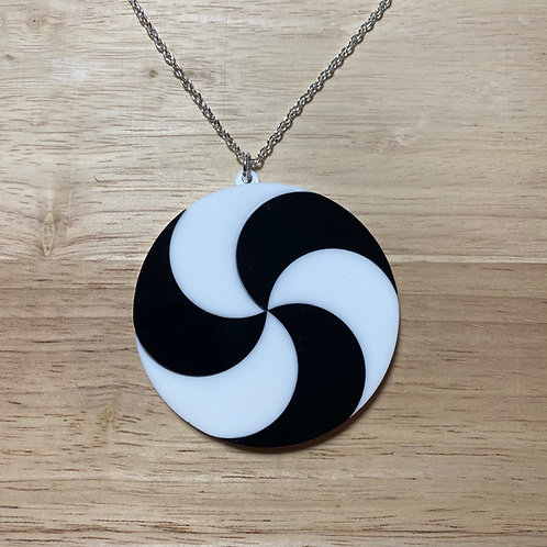 Psychedelic Swirl Necklace