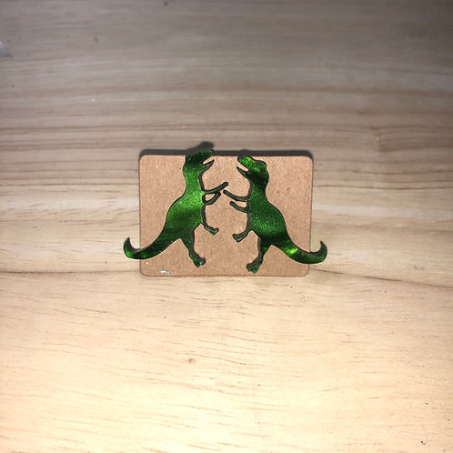 T Rex Earrings