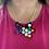 Thumbnail: Random Rainbow Honeycomb Necklace