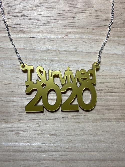 I Survived 2020 Necklace