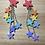 Thumbnail: Rainbow Stars Earrings